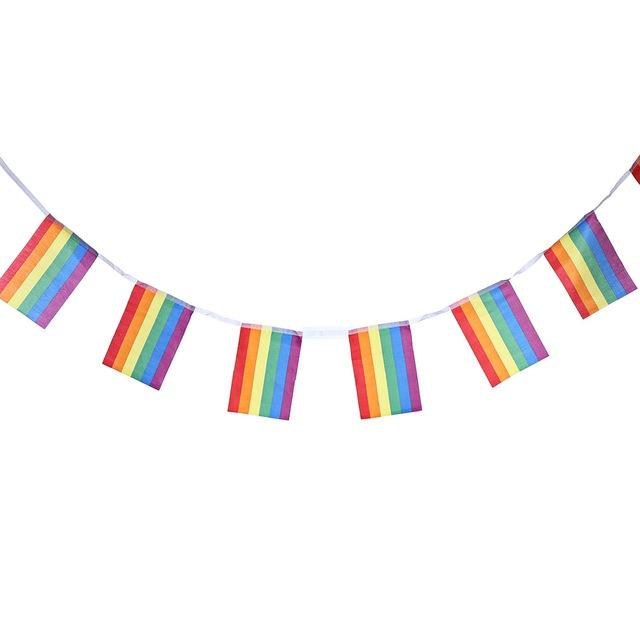 שרשרת דגלי הגאווה 10 מטר