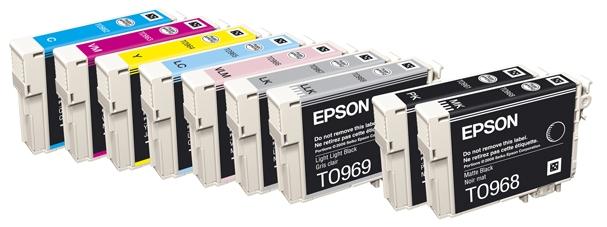 מחסניות דיו מקורי למדפסת אפסון דגם EPSON R2880