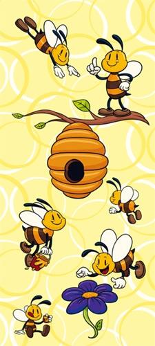 תמונת טפט דבורים מצויר - Kids - Bees