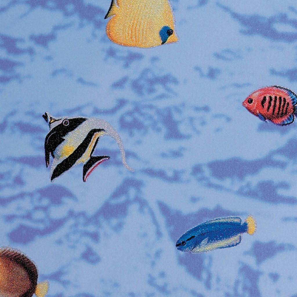 טפט להדבקה עצמית - Fishes