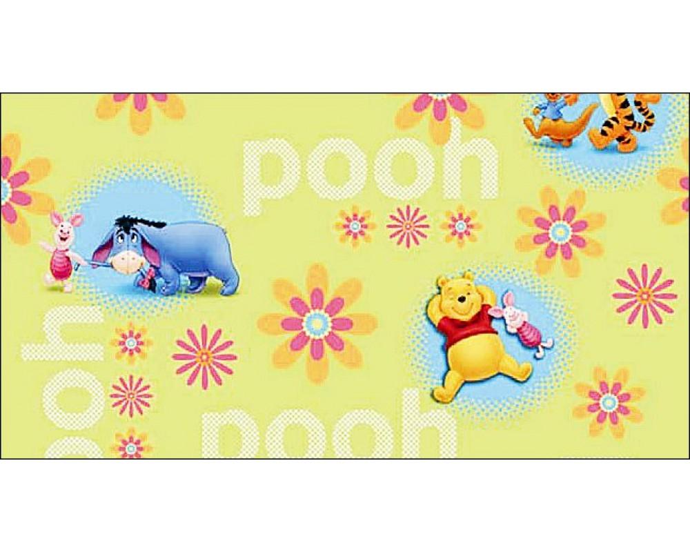 טפט להדבקה עצמית - Winnie the pooh
