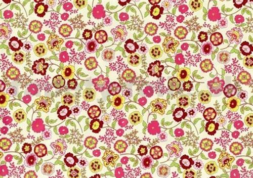 טפט להדבקה עצמית - Flowers