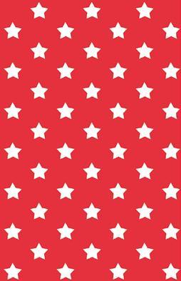 טפט להדבקה עצמית - Stars red