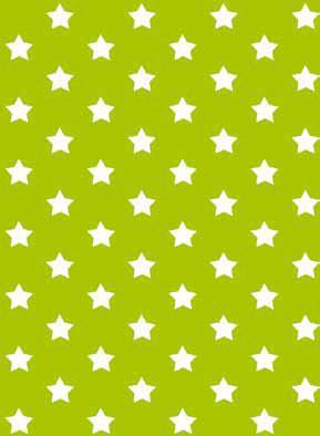 טפט להדבקה עצמית - Stars green