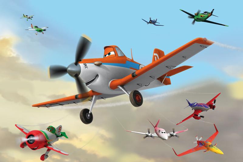 תמונת טפט דיסני - מטוסים