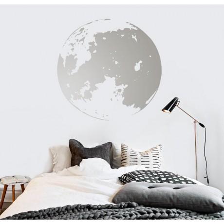 מדבקת קיר - Full moon