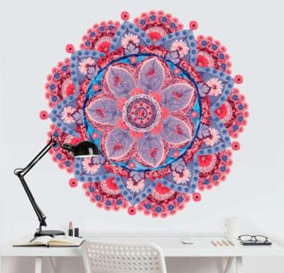 מדבקת קיר - מנדלה פרח