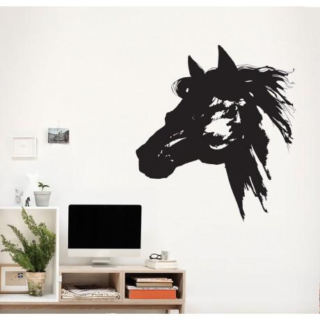 מדבקת קיר - The horse
