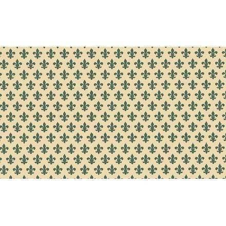 טפט להדבקה עצמית - Lily green