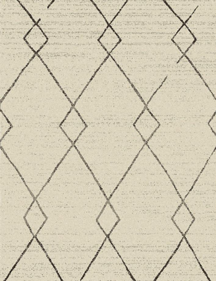 שטיח גיאומטרי מעויינים