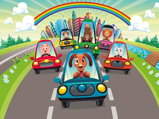 תמונת טפט ילדים - מכוניות