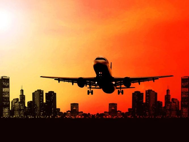 תמונת טפט אוירון ממריא