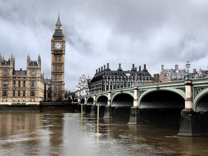 תמונת טפט ביג בן לונדון - The Big Ben