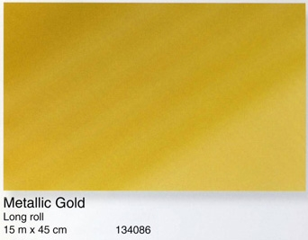 טפט להדבקה עצמית מוזהב - Metallic Gold
