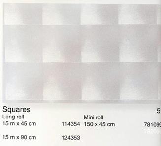טפט להדבקה עצמית - Squares