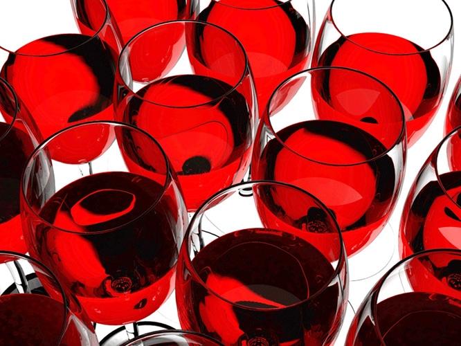 תמונת טפט כוסות יין - Wine Glasses
