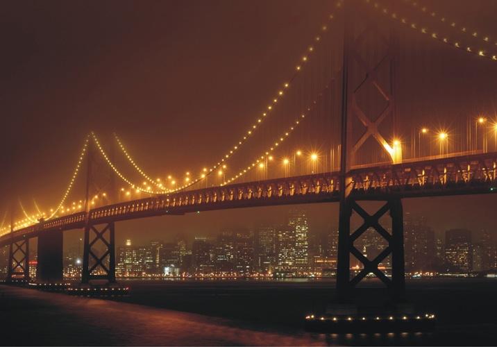 תמונת טפט של גשר הזהב