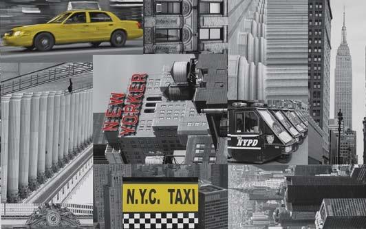 טפט להדבקה עצמית - City taxi