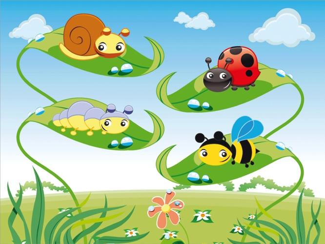 תמונת טפט חרקים 1 - Kids - Bugs 1