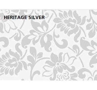 טפט להדבקה עצמית - Heritage Silver