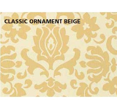 טפט להדבקה עצמית - Clasic Ornament beige