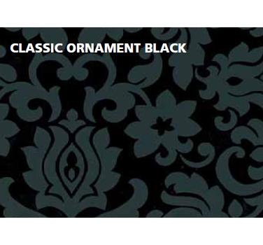 טפט להדבקה עצמית - Clasic Ornament black