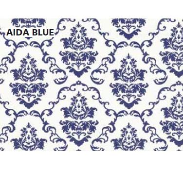 טפט להדבקה עצמית - Aida blue