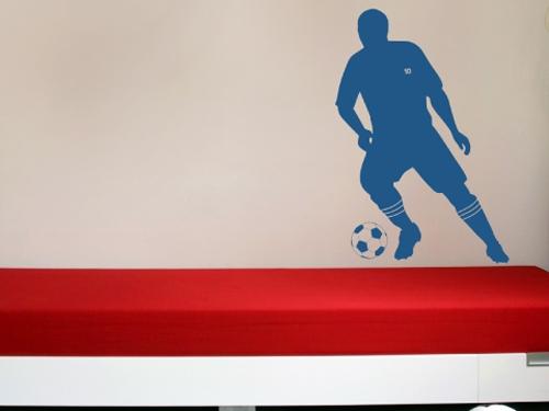 מדבקת קיר כדורגל