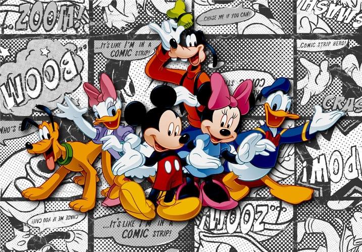 תמונת טפט דיסני - מיקי מאוס וחבריו