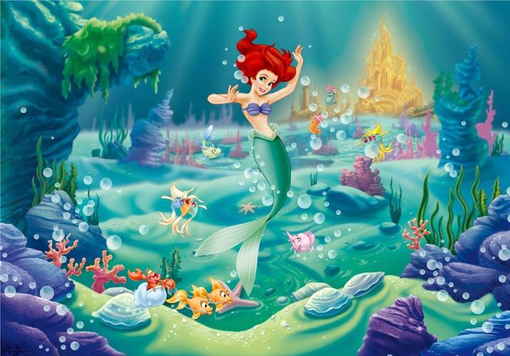 תמונת טפט דיסני - בת הים הקטנה