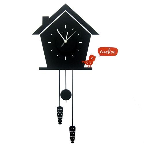 מדבקת קיר - שעון קוקיה