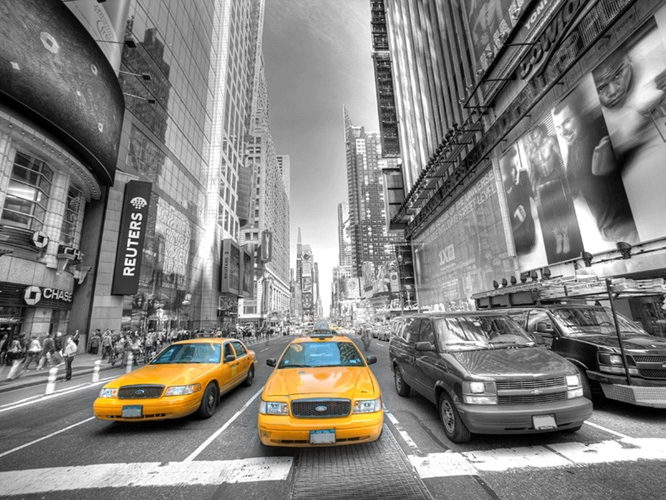 תמונת טפט מוניות בניו יורק - New York Taxi