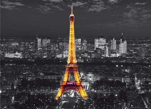 תמונת טפט של מגדל אייפל זוהר