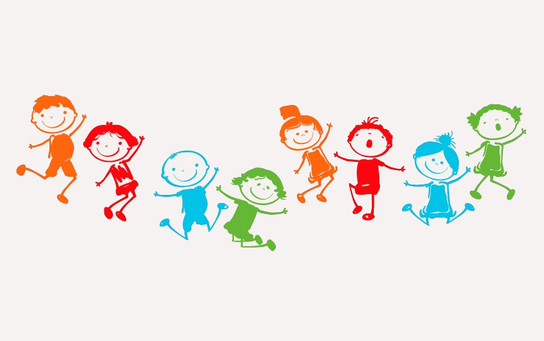 מדבקות קיר - גן ילדים
