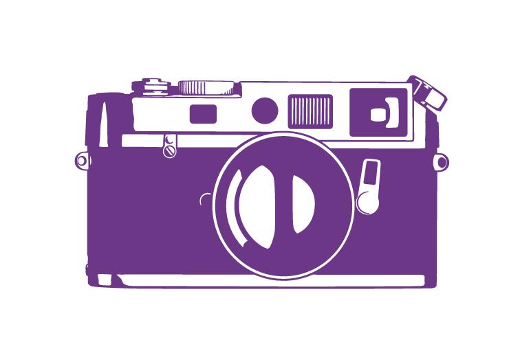 מדבקות קיר - מצלמה
