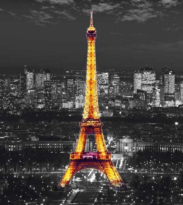תמונת טפט קטנה לקיר - פריז
