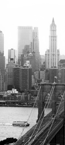 תמונת טפט ניו-יורק - New York Black & White