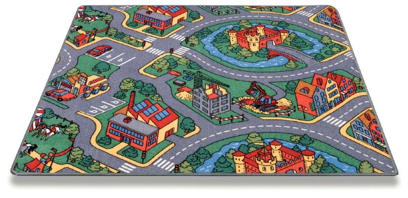 שטיח ילדים RoundAbout - כבישים