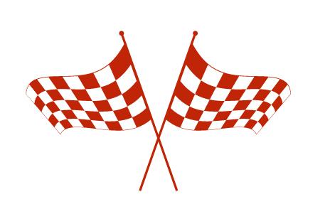 מדבקת קיר - דגלים של פורמולה 1
