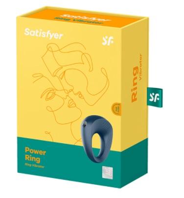 טבעת רטט נטענת וזוגית - טבעת הכוח - Power Ring