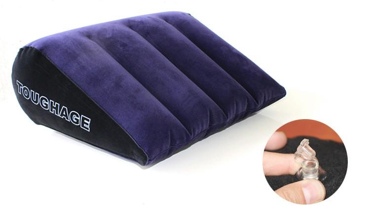 כרית משולשת מתנפחת לתנוחות