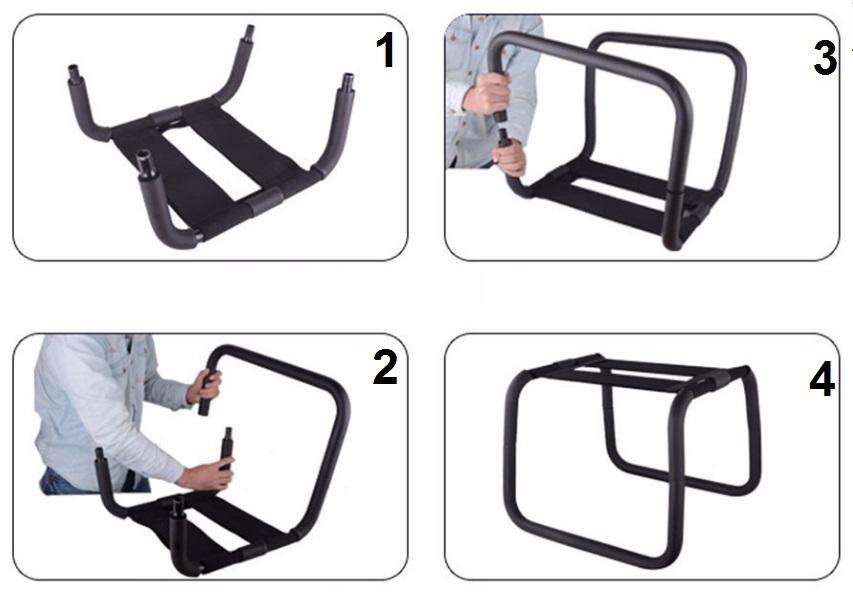 כיסא שרפרף למגוון תנוחות וכרית