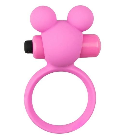 טבעת רטט זוגית מסיליקון רפואי : הדובי המענג