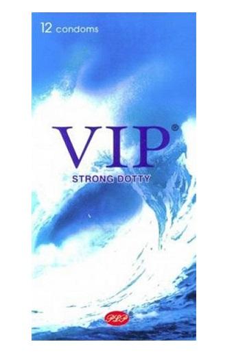 12 קונדומים VIP - מחוספסים