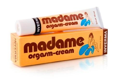 מדאם אורגזמוס קרם לאישה - Madame Inverma באישור משרד הבריאות