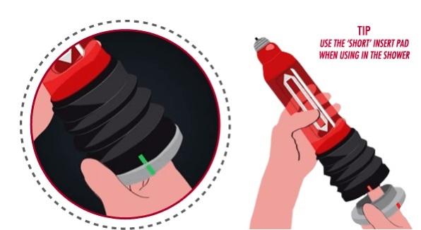 משאבת זיקפה בוואקום מים לשיפור הזיקפה והגדלת האיבר - HydroMax