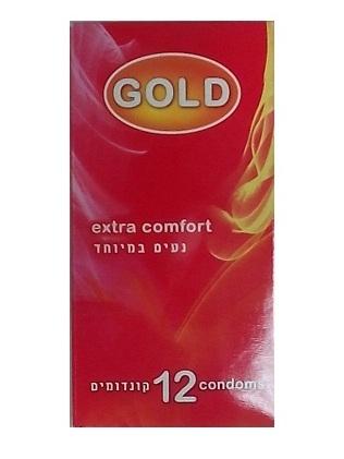 12 קונדומים GOLD - דק ונוח במיוחד