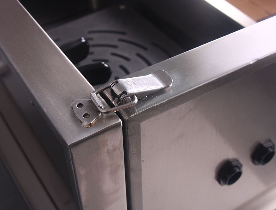אמבטיה חשמלית נירוסטה 127X67cm