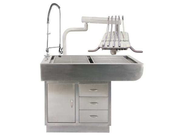 שולחן רופא שיניים נירוסטה