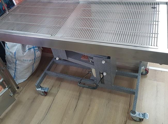 שולחן ניתוחים הידראולי 140X60סמ